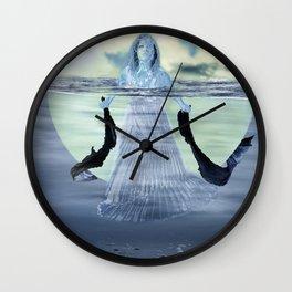Sinking the Moon Wall Clock