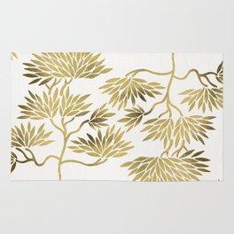 Bonsai Tree – Gold Palette Rug