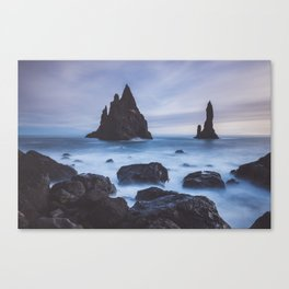Reynisfjara - Landscape and Nature Photography Canvas Print