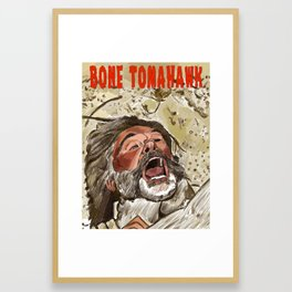 Bone Tomahawk Framed Art Print