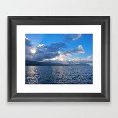 Ko'olau Framed Art Print