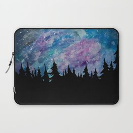 Galaxies and Trees Laptop Sleeve