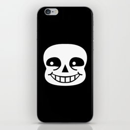 Sans Skull iPhone Skin