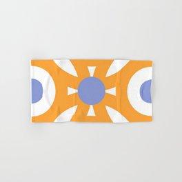 Orange Tile Hand & Bath Towel