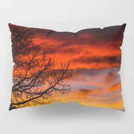 Fire Sunset Pillow Sham