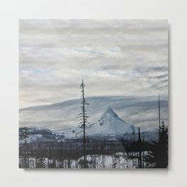 Clarity: Mt. Washington Metal Print