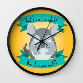 Gremlins Are Real Wall Clock