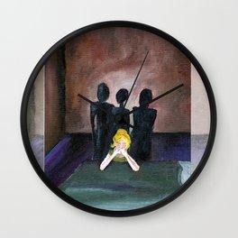 Of Lingered Shadows Wall Clock