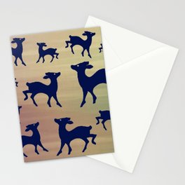 Fawn on Nature Colours Inspired Stationery Cards