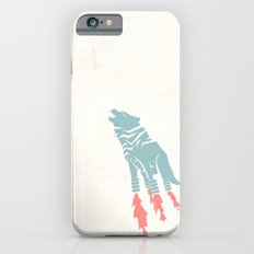 Robot Wolf-Tiger from Outer Space iPhone 6s Slim Case