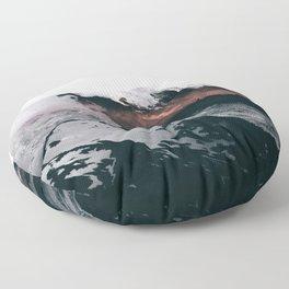 Mount Rainier VII Floor Pillow