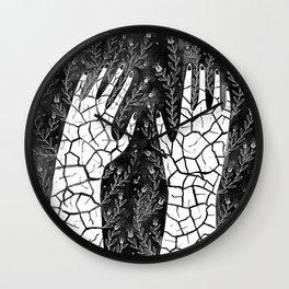 Fertile Hands Wall Clock