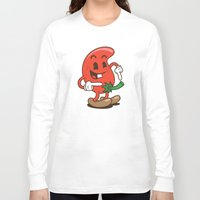 chile Long Sleeve T-shirts featuring El Chile by El Monero