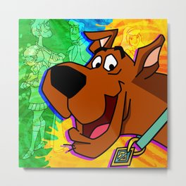 dog scoby Metal Print