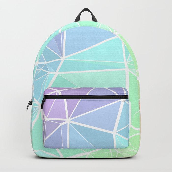 Rainbow Triangles Backpack