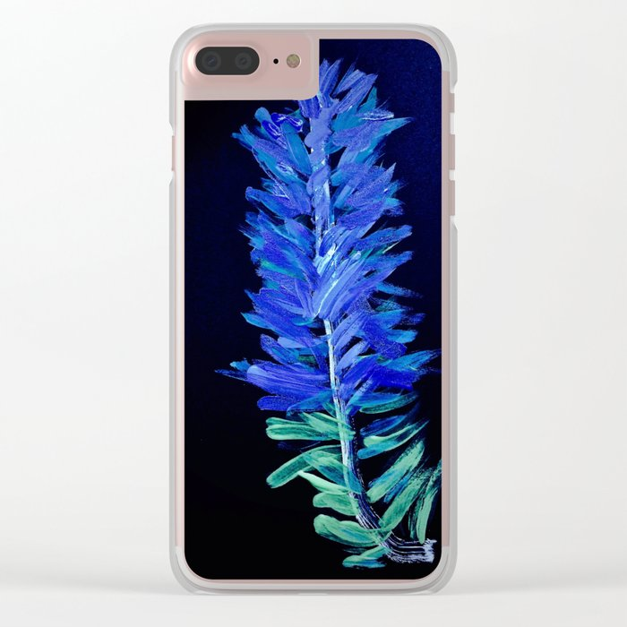 Sienna Pines Clear iPhone Case