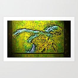 Fosil Art Print