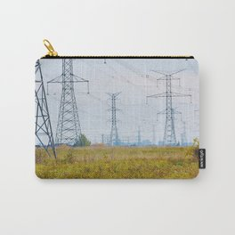 Landscape with power lines Carry-All Pouch