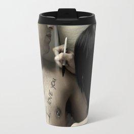 I Love You Period. Travel Mug