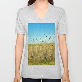 Tall Grass Unisex V-Neck