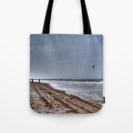 The beach Tote Bag