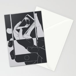 iFail Black + Silver inverse (Picture This!) Stationery Cards