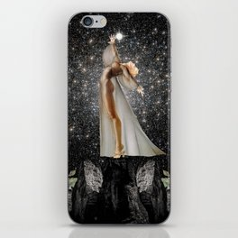COLLECTING STARS iPhone Skin