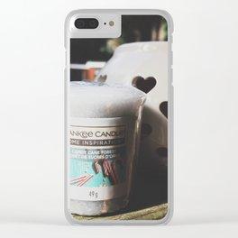 yankee_2 Clear iPhone Case