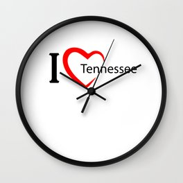 Tennessee. I love my favorite city. Wall Clock