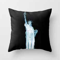 Land of the Free? Throw Pillow