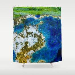 Ocean Vibe Shower Curtain