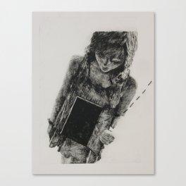 A Delicate Frame Canvas Print