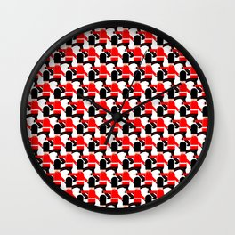 Quick March! Wall Clock