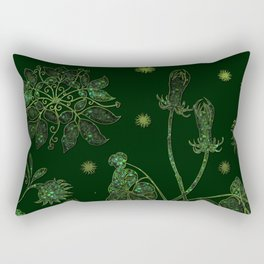 Emerald Glade Rectangular Pillow