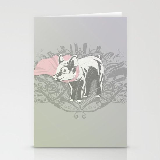 Fearless Creature: Oinx Stationery Cards