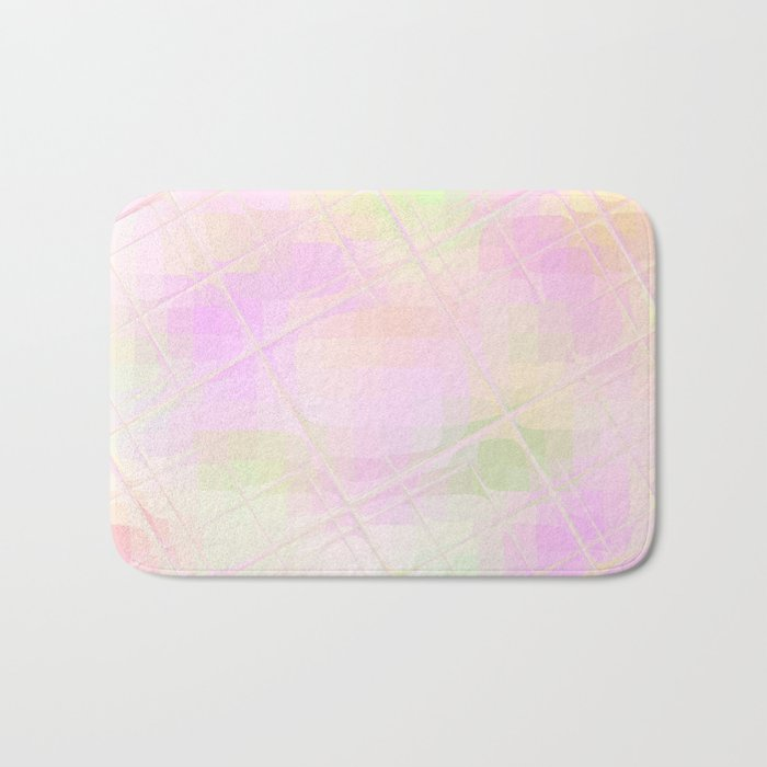 Re-Created Twisted SQ X by Robert S. Lee Bath Mat