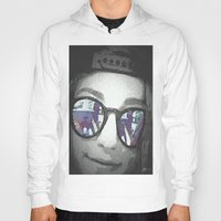sunglasses Hoodies featuring Sunglasses by Jerry Watkins