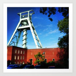 Welcome to the Ruhrgebiet Art Print