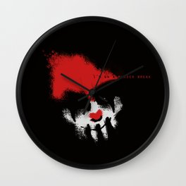 I'm on a Murder Break Wall Clock