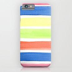 Summer stripes Slim Case iPhone 6s