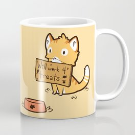 Will Work 4 Treats Coffee Mug