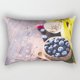 healthy food Rectangular Pillow