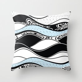 Pattern 74 Throw Pillow