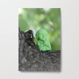 Little Bu Tree Metal Print