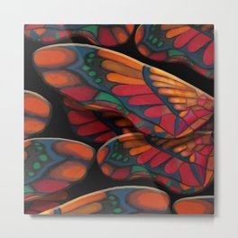 """A thousand colors of butterfly wings"" Metal Print"