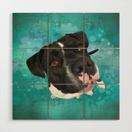 SMiTHY (shelter pup) Wood Wall Art