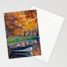 Аutumn drops Stationery Cards
