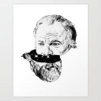 Half K Dick Art Print