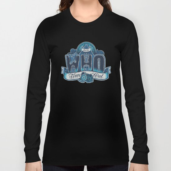 Infinite Who Long Sleeve T-shirt