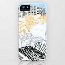 Tokyo landscape iPhone Case